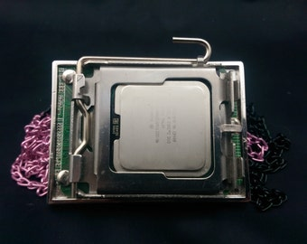 Intel mini-pc belt buckle with protective bag