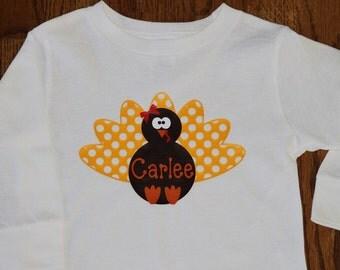 Polka Dot Turkey Shirt