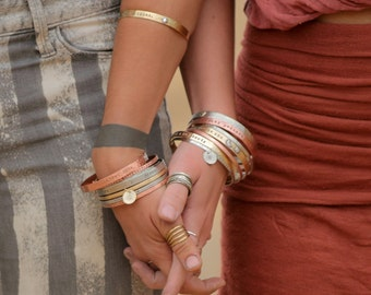 Jewelry / Gift / Graduation Gift / Gift for Her / Inspirational Bracelet / Mantra / Power Phrase Bracelet / Her Birthday / Inspirational