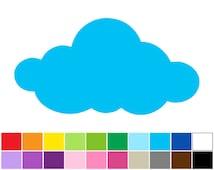 Articles Populaires Correspondant 224 Cloud Stencils Sur Etsy