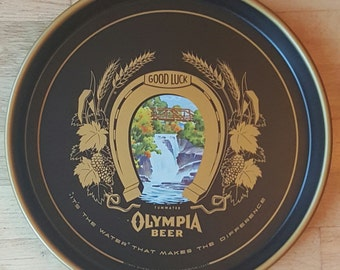 Vintage Olympia beer tray from the 1960's