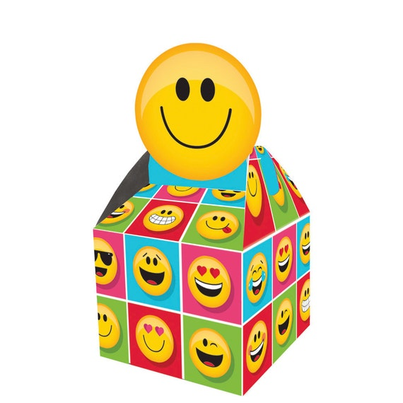 Emojicon Party Favor Box
