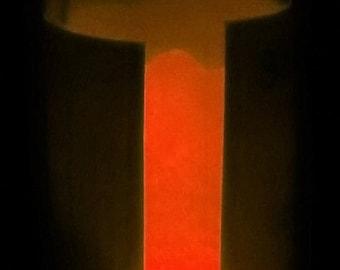 Strontium Aluminate Bright Red Glow Powder, 25 grams