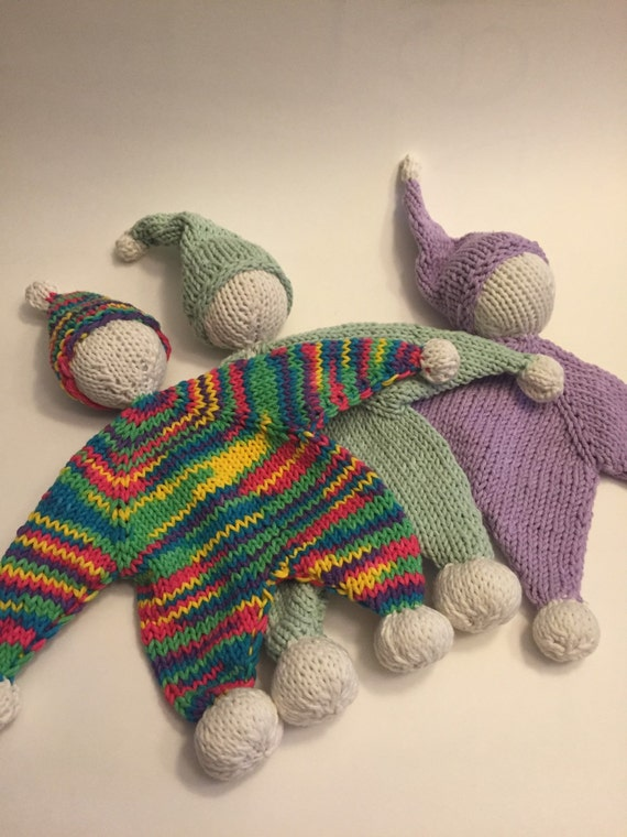 Knitted Doll Blanket Pattern : Handmade knitted Lovelybabys first doll