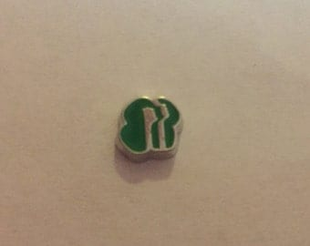 Girl Scout Floating Charm