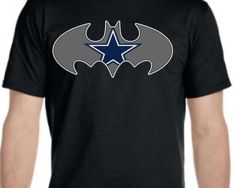 Cowboys Batman Etsy