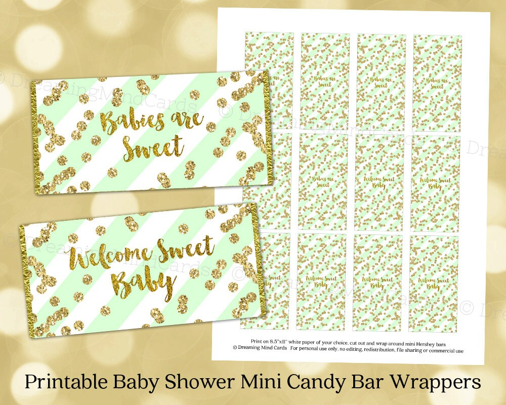 It is a graphic of Juicy Free Printable Baby Shower Candy Bar Wrappers
