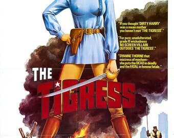 Ilsa, the Tigress of Siberia Movi POSTER (1977) Adult/Adventure