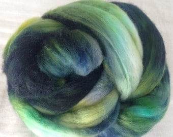 LAGUNA NIGUEL - Fiber Roving Top Superfine Merino Hand Painted Wool Spin Felt Craft 2 ounces