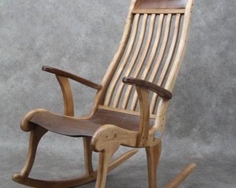 """Rocking chair, """"Elite"""" line."""