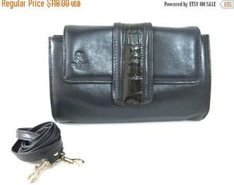 SALE 50% OFF Women's Leather Clutch Bag, Women's Leather Shoulder Handbag, Women's Leather Crossbody Bag, Gift For Her - in Dark Navy Blue (