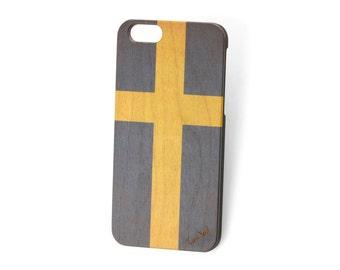 iPhone 7 case, iphone 6s case iphone 6 case iphone 7 plus case iphone 6s plus case iphone 6 plus case Vintage Flag of Sweden