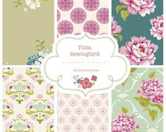 Tilda Sewingbird 6 Fat Quarters Bundle - 10% discount