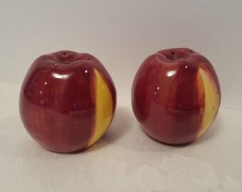 Stangl Apple Delight Salt & Pepper Shakers #5161