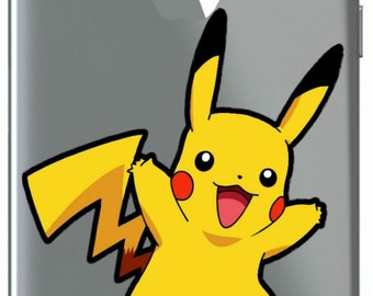 Pokemon Pikachu Vinyl Cut Sticker
