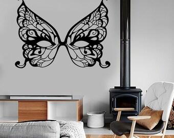 Wall Vinyl Decal Mask Masquerade Secret Dream Bedroom Amazing Decor 1373dz