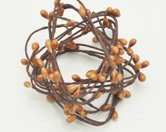 Pip Berries Stems,Cappuccino pip berry stems,Brown,floral crown materials,wedding crown,head wreath,pip berry vine =50stems