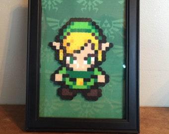 Zelda Framed Perler