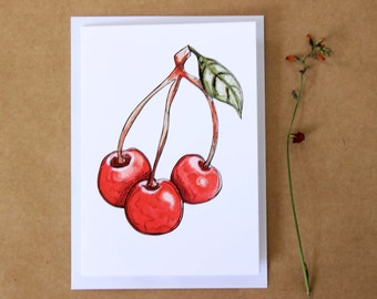 Cherry Gift Card- Print