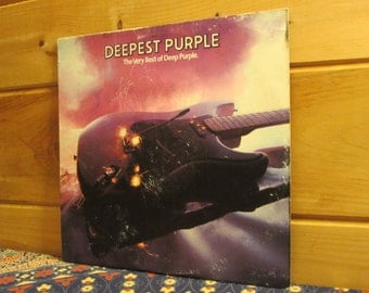 Deep Purple - Deepest Purple - The Very Best Of Deep Purple - 33 1/3 Vinyl Record