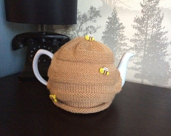 Beehive Tea Cosy Hand Knitted