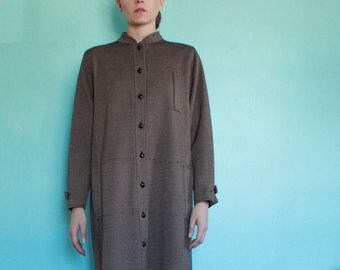 Vintage Button Down Tunic Dress by Jane Andre
