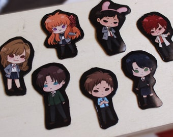 Monthly Girls' Nozaki-kun Mini Magnets!