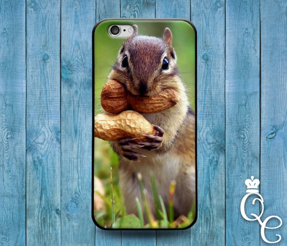 iPhone 4 4s 5 5s 5c SE 6 6s 7 plus iPod Touch 4th 5th 6th Gen Cute Funny Nut Squirrel Girl Boy Animal Fun Phone Cover Adorable Custom Case
