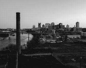 Nashville, Tennesse in Black + White