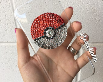 SALE...Swarovski Crystal Pokeball iPhone 6 Case