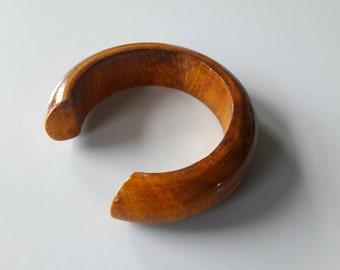 Bracelet made of Teak Wood '70