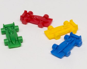 Plastic Race Car Pieces