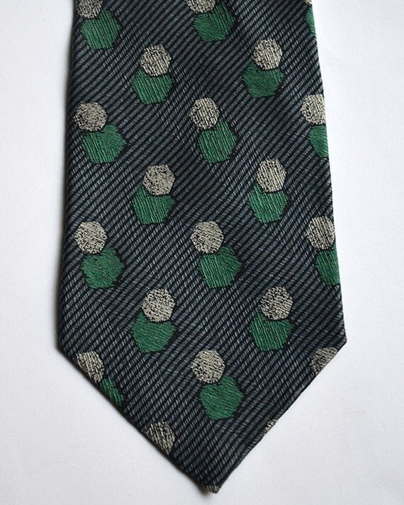 Vintage GIORGIO ARMANI Cravatte Woven Silk Neck-Tie Made in Italy