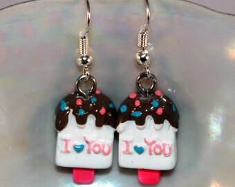 Adorable Ice Cream Decora Style Earrings