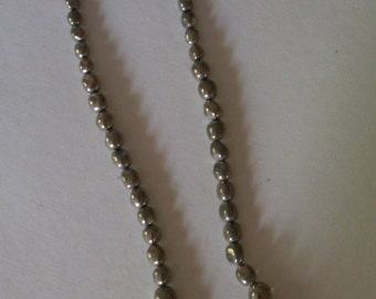 Mexican Sterling Bead necklace