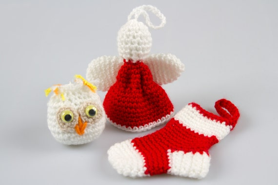 Free Crochet Pattern For Christmas Pickle : Crochet Pattern Free Crochet Christmas Ornaments Christmas