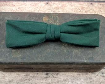 Vintage Clip On Bow Tie-Retro Bow Tie-WWII Era Bow Tie-Royal Rust Resistant Bow Tie