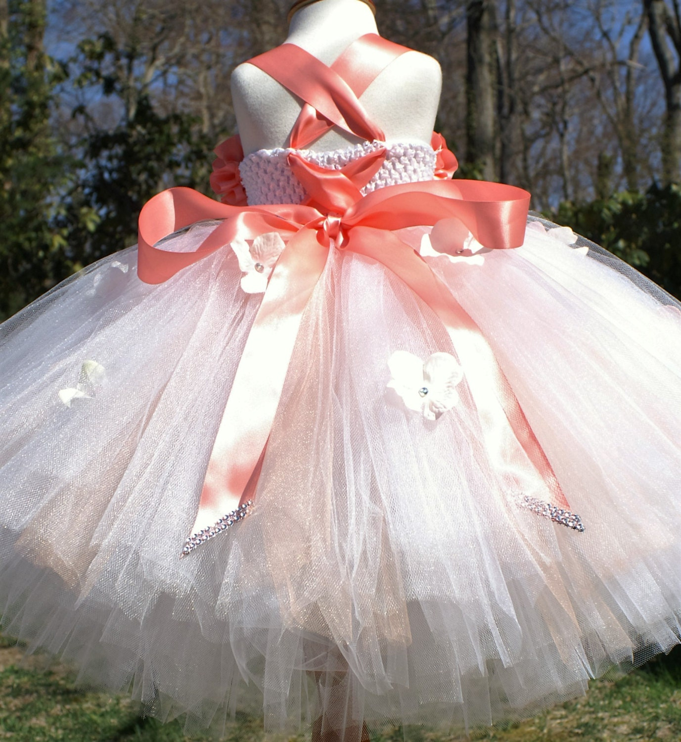 Flower Girl Dress Birthday Tutu Dress Flower Girl Tutu