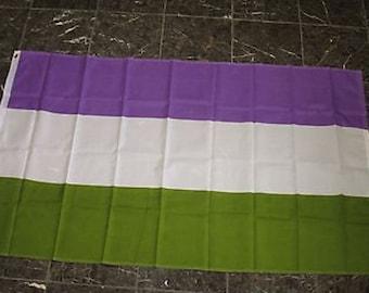 Gender Queer Pride Flag