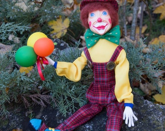 Lolik the clown doll