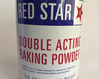 Red Star Tin