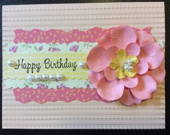 Homemade Card - Happy Birthday