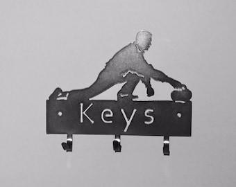 Curling Key Holder