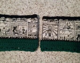 Link Crochet Boot Cuffs