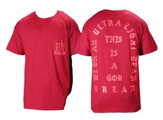I feel like pablo the real life of pablo yeezy msg by for Life of pablo merch
