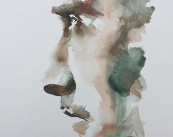 Portrait XII GICLEE PRINT on fine art paper