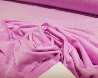 Neon Lilac Cotton Blend