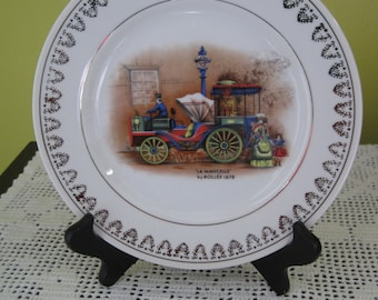 "Vintage decorative plate ""La series"" / Vintage Decorative plate ""La series"""