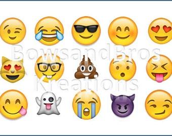 Emoji Bottle Cap Images