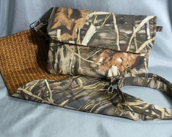 PRICE REDUCED: Clutch, Diaper Clutch, Diaper Bag, Wristlet, Shoulder Bag, Changing Pad, Camo Pattern